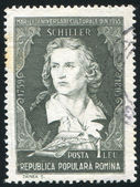 Friedrich Schiller — Stock Photo