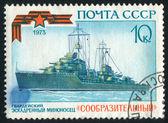 Warship — Stock fotografie