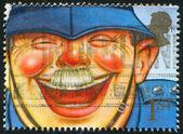 Laughing Policeman — Stock Photo