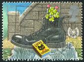 Black boot — Stock Photo