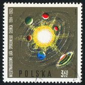 Sistema solare — Foto Stock
