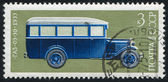 Stamp Bus — Stock Photo