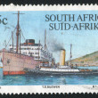 Stamp ship — Stock fotografie #6351498