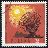 電波望遠鏡 — ストック写真