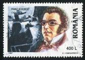 Franz Schubert — Stock Photo