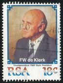 Frederik Willem de Klerk — Foto Stock