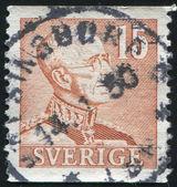 King Gustaf V — Stock Photo