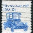 Stamp car — Stockfoto