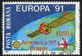 Europa satellite — Stock fotografie