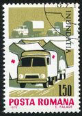 Truck razítko — Stock fotografie