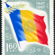 Romanian flag — Stock Photo #6589980