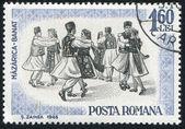 Folk Dancers — Foto Stock