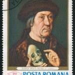 Постер, плакат: Man with a Skull