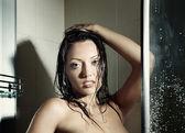 Beauty in the bath — Stock Photo