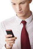 SMS sending — Stock Photo