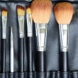 Stock Photo: Makeup brush