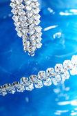 Brilantní náhrdelník — Stock fotografie