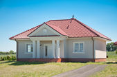 New small one family house — Stock Photo