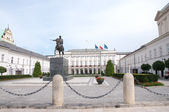 Presidential palace in Warsaw, Poland — Stock Photo