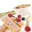 Forest berry muesli bar — Stock Photo #5422601