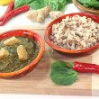 Stock Photo: Palak Paneer