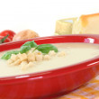 cheese soup&quot — Stock Photo