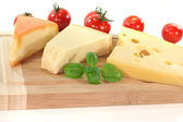 Cheese Selection — Stock Photo