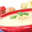 Cheese soup — Stock Photo