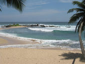 Ceylon in the Indian ocean, beach in Tangalle — Stock Photo