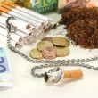 tobacco tax — Stock Photo