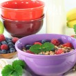 Fruit Muesli — Stock Photo #5431213