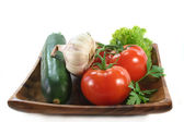 Vegetable Plate — Stock Photo