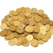 Heap of golden coins — Stock Photo #5837772
