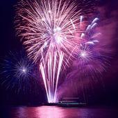 Fireworks, salute — Stock Photo