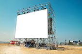 Empty billboard — Stock Photo