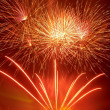 Beautiful fireworks - Foto Stock