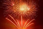 Bellos fuegos artificiales — Foto de Stock