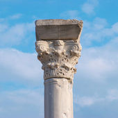 Greek column — Stock Photo