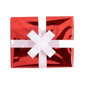 赤いギフト ボックス — ストック写真