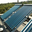 Vacuum solar water heating system — Stockfoto #5921709