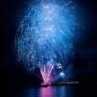 Blue fireworks — Stock Photo #5921869