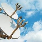 Satellite antenna — Stock Photo