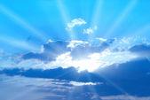 Güzel mavi gökyüzü — Stok fotoğraf