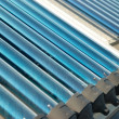 Vacuum solar water heating system — Stock Photo #6062405
