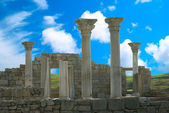 Ancient castle with columns — Stock Photo