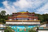 Indian buddhistic monastery — Stock Photo