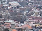Tbilisi overview, Republic of Georgia — Stock Photo