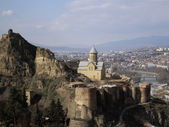 Tbilisi castle — Stock Photo
