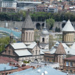 Tbilisi overview, Republic of Georgia - Stock Photo