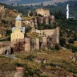 Medieval castle of Narikala and Tbilisi city overview, Republic of Georgia, — Stock Photo #6690702